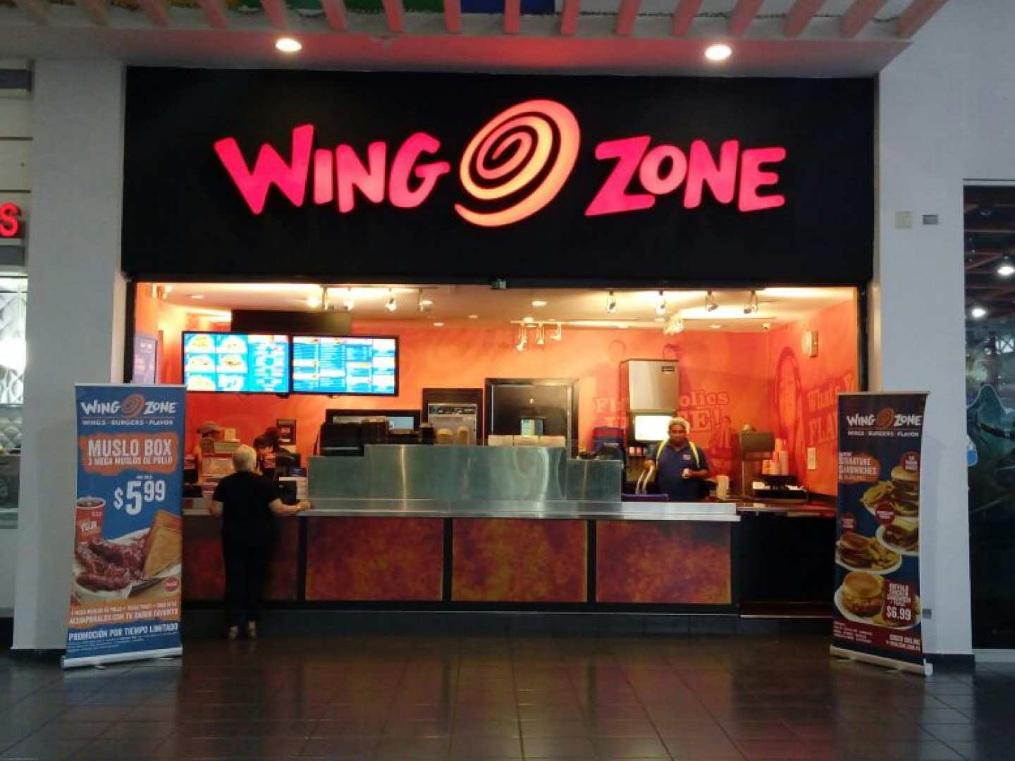 Wing Zone (Albrook Mall)