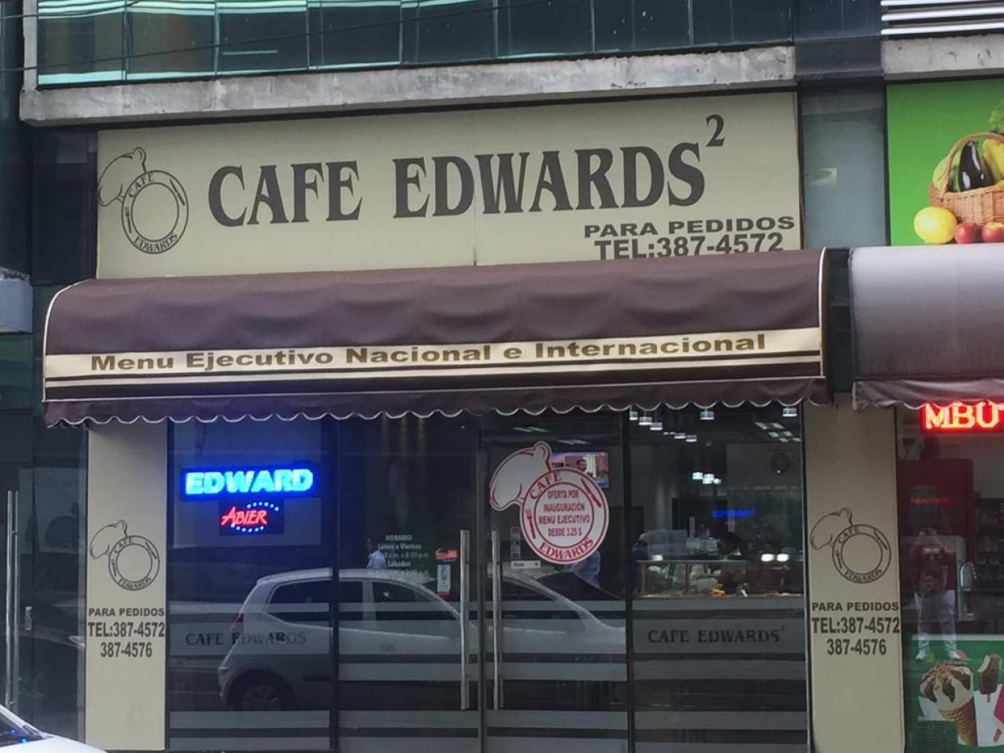 Café Edwards (Obarrio)
