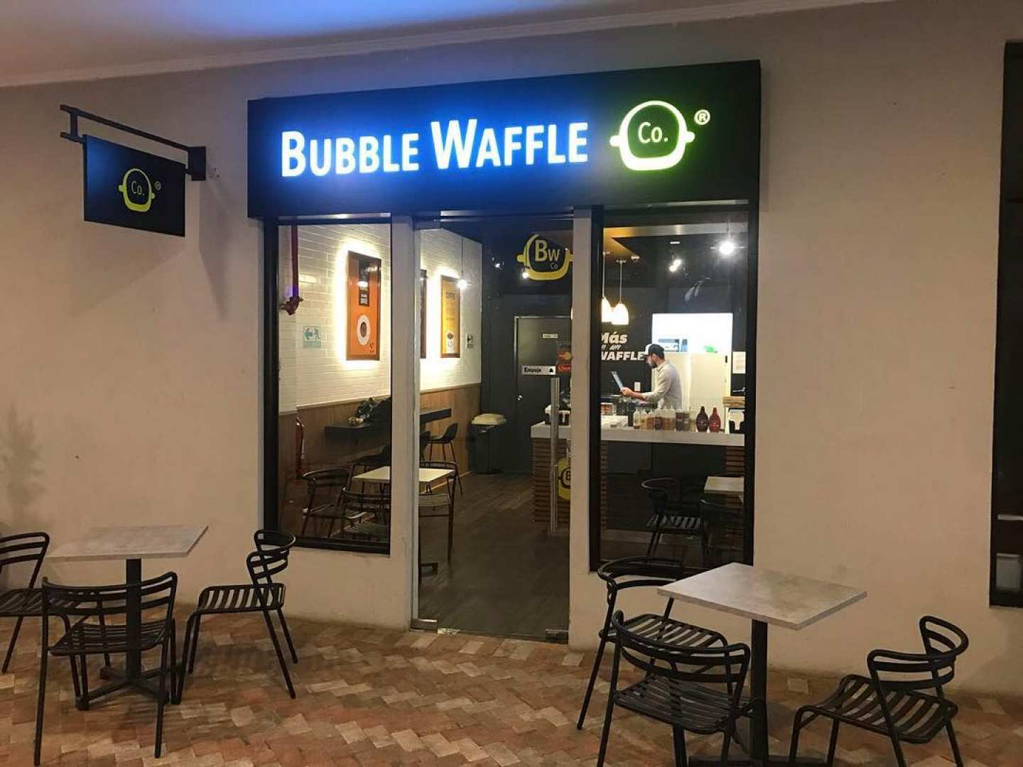 Bubble Waffles