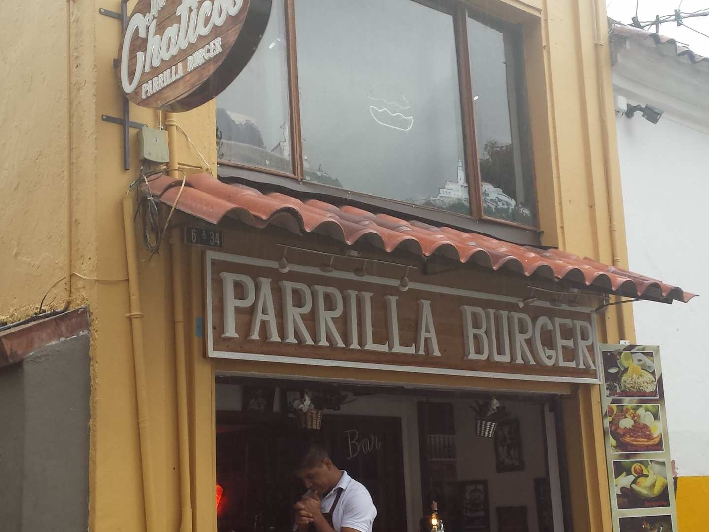 Ala Chaticos Parrilla Burger