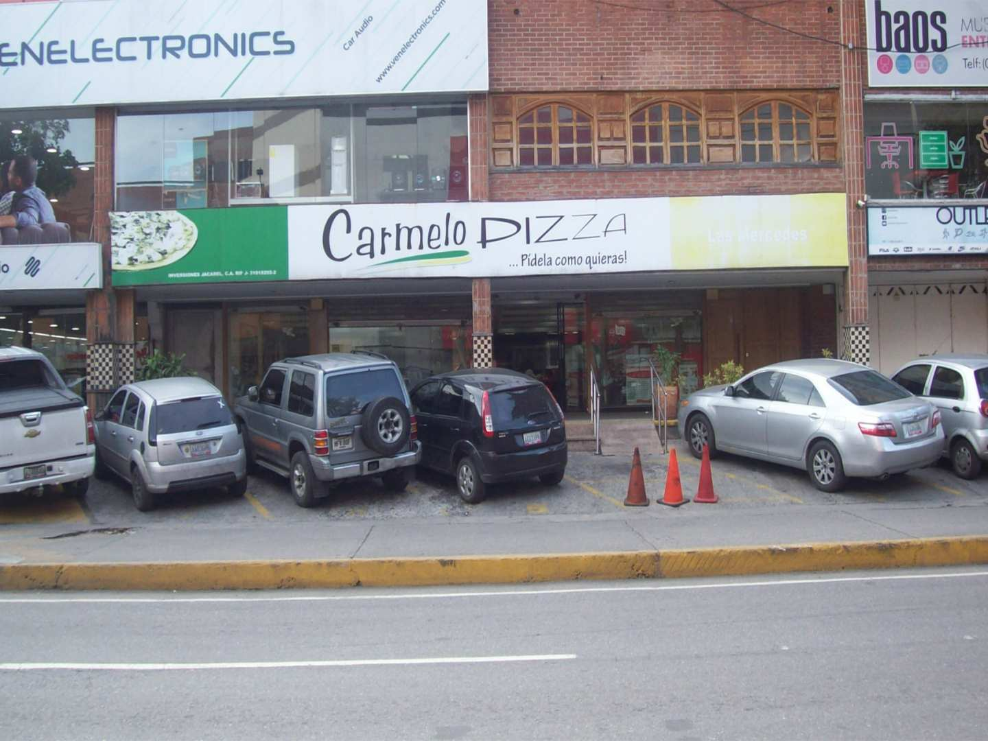 Carmelo Pizza (Las Mercedes)