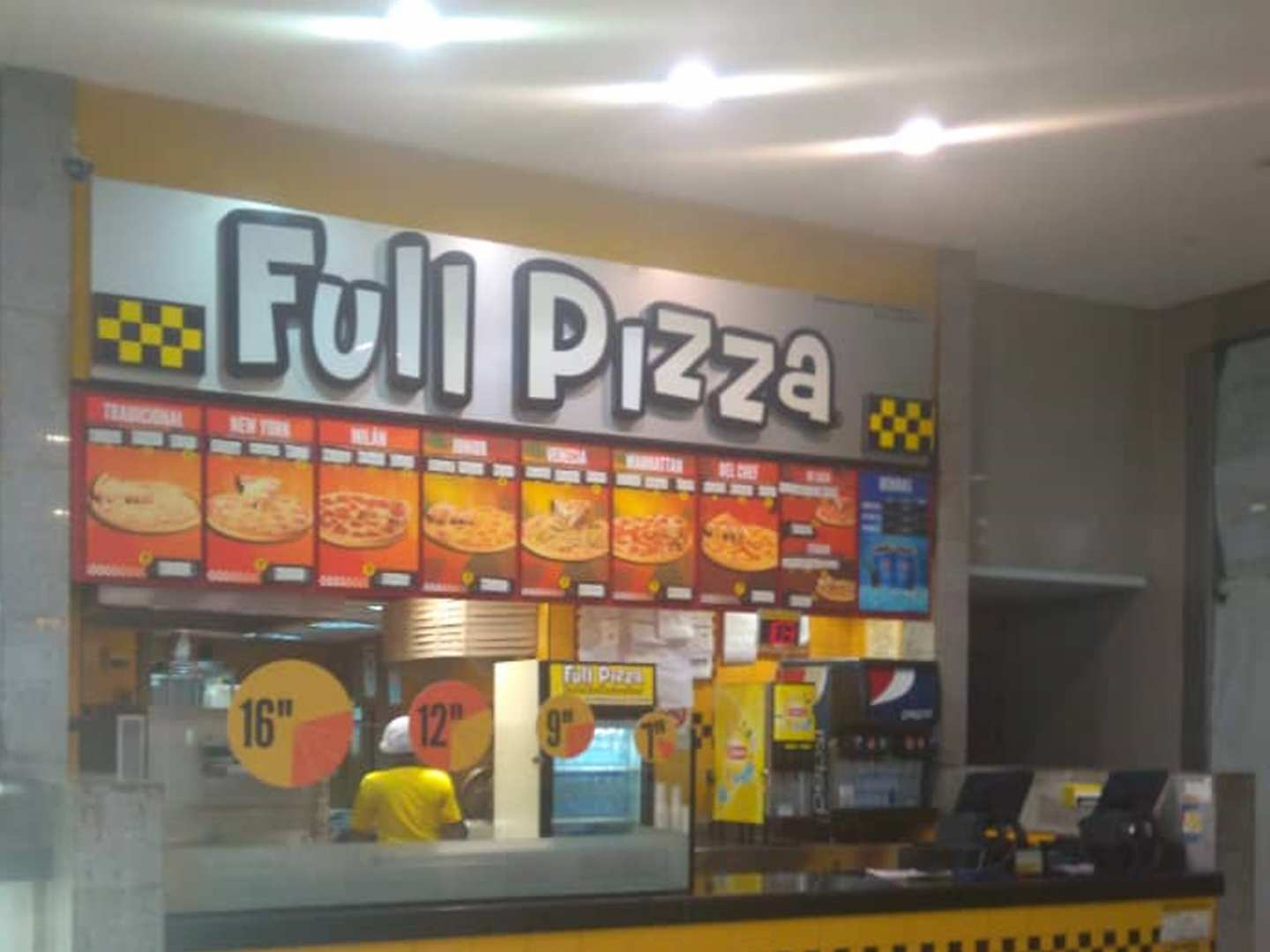 Full Pizza (C.C. Líder)